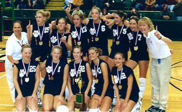 Picture of 2000 Galion High School Volleyball Team
